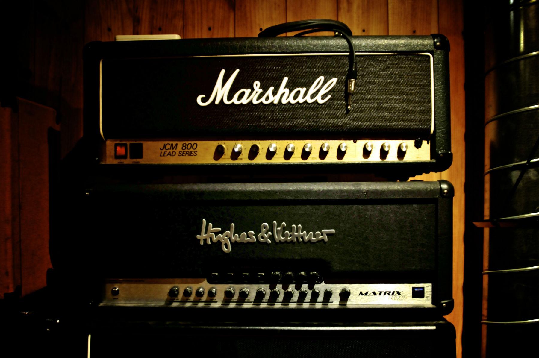 studio amplificatore marshall